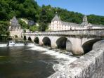 Visit beautiful Brantome and hire a canoe ...