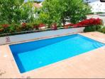 Private Swimming pool and terrace