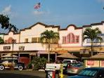 Shopping, dining and fun at historic Haleiwa Town just a short scenic drive from the Villa.