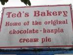 Famous Ted's Bakery- walking distance from the Villa