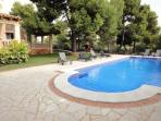Pool Area with Sunloungers