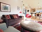 Riverside Lodge, Living Room, Dog Friendly Riverfront Home