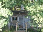 The old sauna on the lake