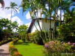 La Casa Garden, cottage dans un magnifique jardin tropical, à 2 pas de la plage et du village