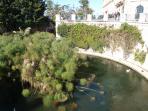 Aretusa Fountain: 100m away