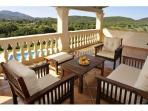 Terrace with stunning views