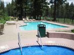 Mammoth Green Outdoor Spa and Pool