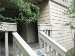 Entry to Vacation Rental