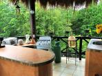 Really nice fully equipped private outdoor kitchen
