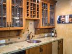 Wine Bar with sink and dishwasher