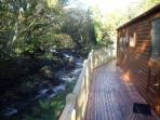 Spectacular riverside location set in its own private grounds not on a holiday park