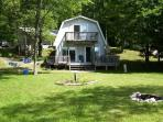 Lake Front, Recently Renovated 3 Bedroom Cottage