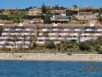Sinfonia del Mar from the sea