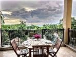 DIRIA 3 BEDROOM CONDO - Ocean views, 3 terraces!