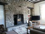 Second living room with Wood Burner