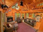 Living Room at Fox Ridge