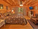 Main Level Bedroom at Fox Ridge