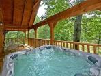 Hot Tub at Fox Ridge