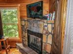 Living Room at Deerly Beloved