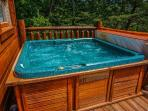 Hot Tub at Deerly Beloved