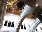 Interni della Basilica di San Nicola