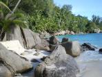 Nearby beach, Anse Royal