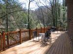 Deck at Hillside Chalet