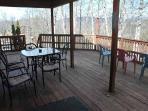 Patio Table and Chairs at Mountain Majesty