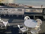 Clubhouse Patio on the Beach