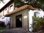 Our villa from the street - Gang Baik Baik
