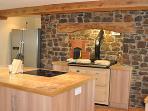 The farmhouse kitchen at Honeymead