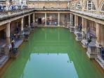 The ancient Roman Baths are well worth a visit