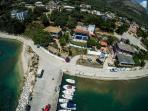 Panoramic photo of Villa Rosanna
