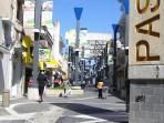 Paseo Jose de Diego marketplace only at 3 minutes walking distance from apartments.