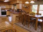 Kitchen and Dining Area at R & R Hideaway