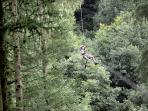 In very nearby Dalby Forest go biking, walking, sightseeing or try GoApe! high wire adventure!