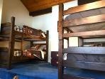 Bunk room in loft