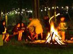 Bonfire in the Meadow
