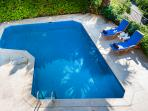 Pool from above