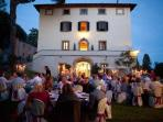 Wedding venue at the villa