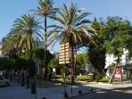 Plaza Polverista in the center.
