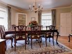 MAIN HOUSE - FORMAL DINING ROOM Contact us directly for availability