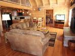 Living Room at Cedar Creeks