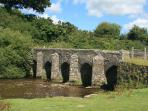 Landacre Bridge - a Medieval 5 span bridge over the River Barle