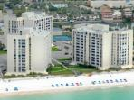 Aerial View of Shoreline Towers