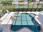 4/31: View of Pool from Upper Deck