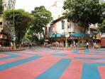 Ipanema district -Corner with Rua Visconde de Piraja