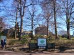 The Royal Botanic Gardens just 10 minutes walk.