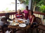 Having Lunch At Kamal Villa