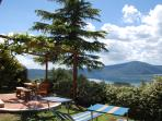 Holiday house for rent on Vico lake in  Italy